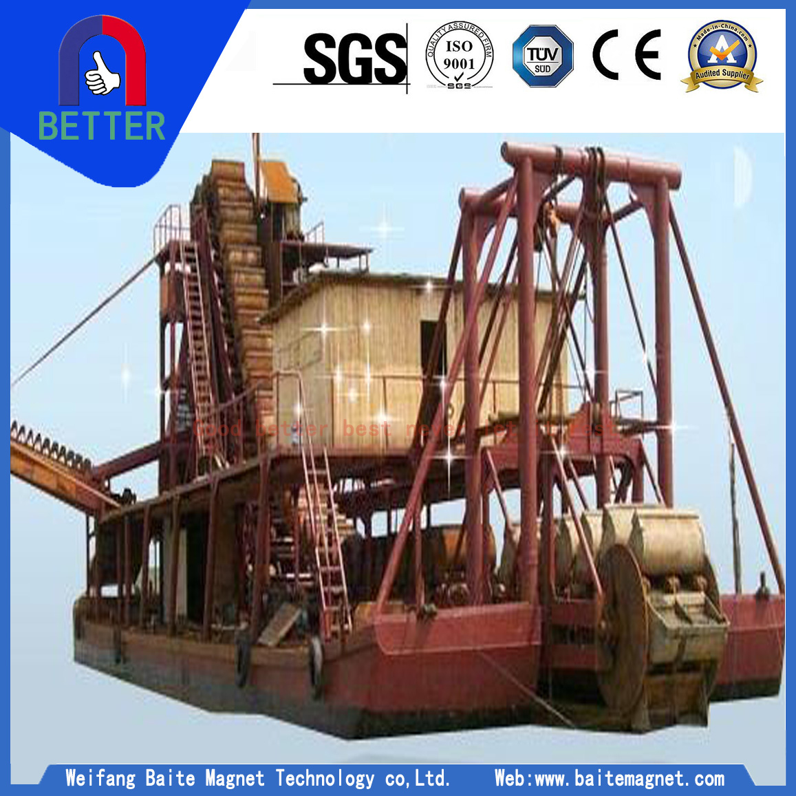 Sand Cutter Suction Dredger For Malaysia