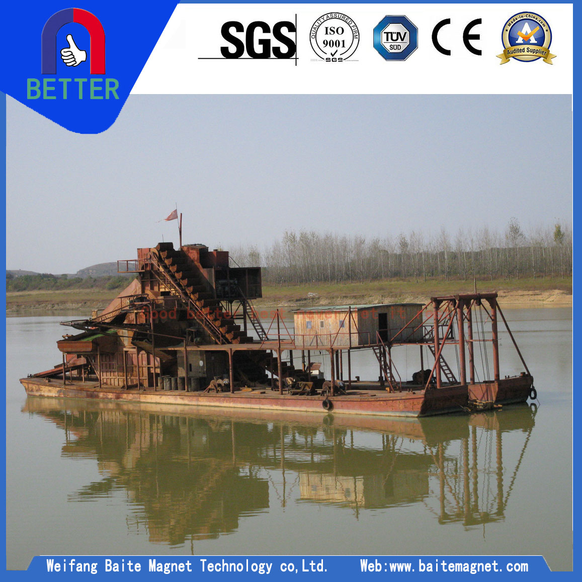 Mini Type Gold Dredge Manufacturers In India