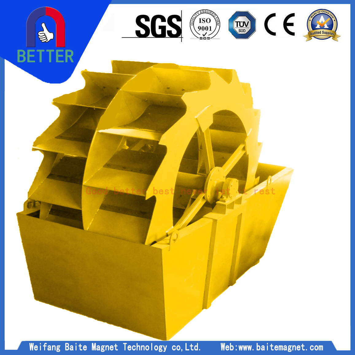 CE Series Sand Washer For Thailand